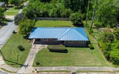 Macon Home with TUFF-RIB Metal Roofing