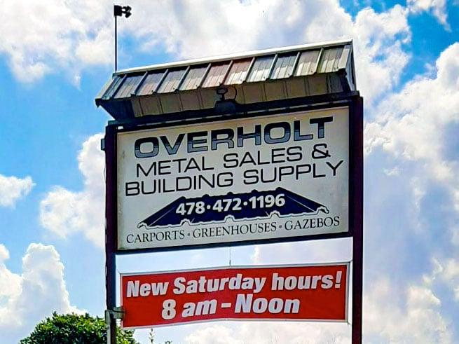 Overholt Metal Sales Montezuma Georgia