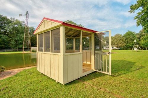 Portable Building - Screen Rooms